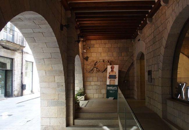 Apartment in Gerona/Girona - Girona Dúplex con parking Zona Rambla