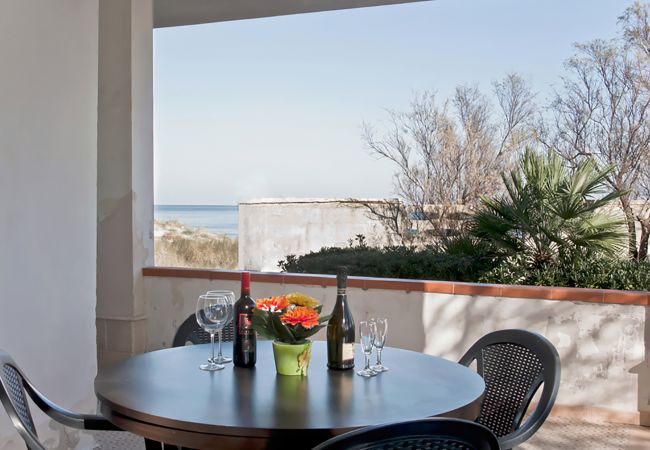Chalet in Spiaggiabella - Beach cottage in Spiaggiabella with 3 bedrooms and washing machine