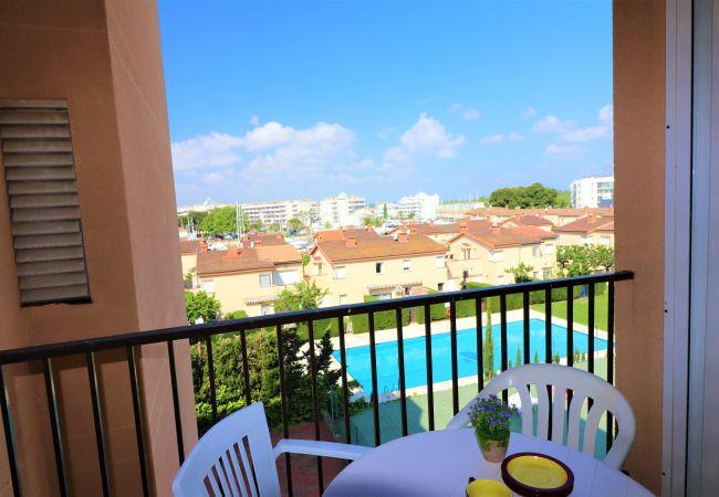 Ferienwohnung in Rosas / Roses - Ferienwohnung für 4 Personen a800 mStrand