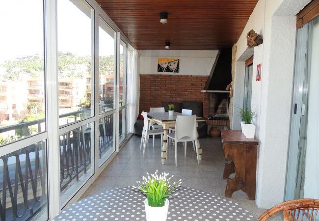 Ferienwohnung in Rosas / Roses - Ferienwohnung mit 2 Schlafzimmern a400 mStrand