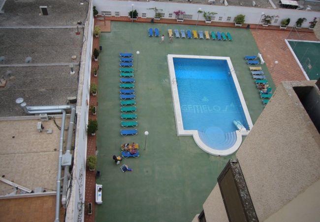 Ferienwohnung in Benidorm - Ferienwohnung mit pool a450 mStrand