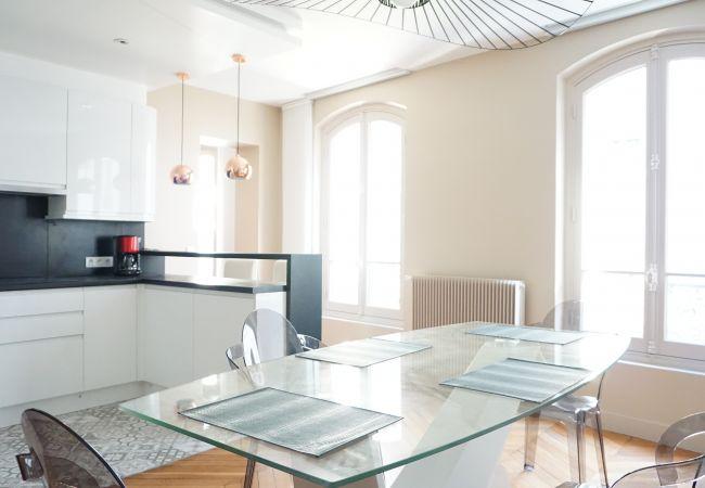 Ferienwohnung in Paris ville - Ferienwohnung mit 1 Schlafzimmern in Paris ville