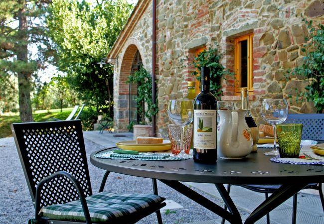 Ferienwohnung in Monte San Savino - Ferienwohnung mit 1 Schlafzimmern in Monte San Savino