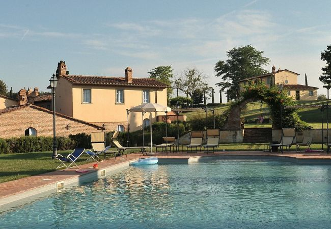 Ferienwohnung in Montepulciano - Romantic Tuscany for two at Roses