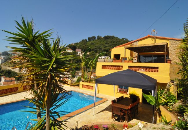 Ferienhaus in Santa Susana - OS HomeHolidaysRentals Paradise - Costa Barcelona