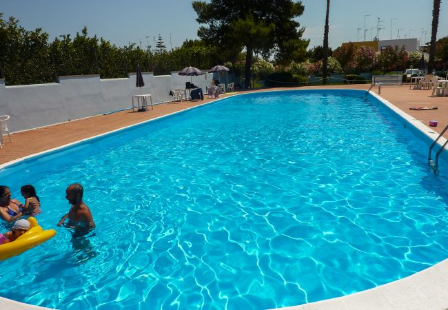 Ferienwohnung in Torre dell´Orso - Ferienwohnung mit Pool nahe am Strand von Torre Dell'Orso, Waschmaschine und Fernseher