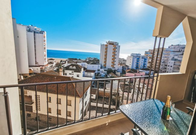 Ferienwohnung in Portimão - Ferienwohnung mit 1 Schlafzimmern a50 mStrand